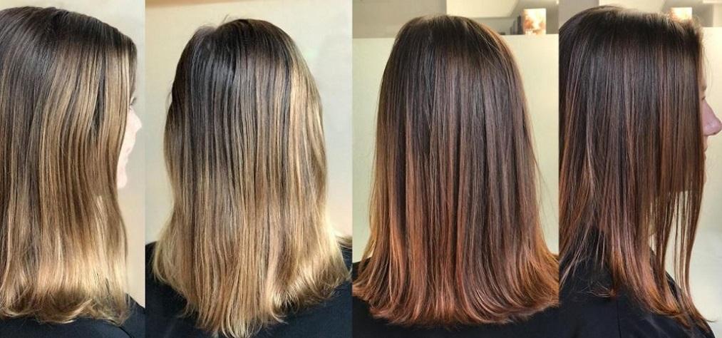 get rid of brassy hair with vinegar