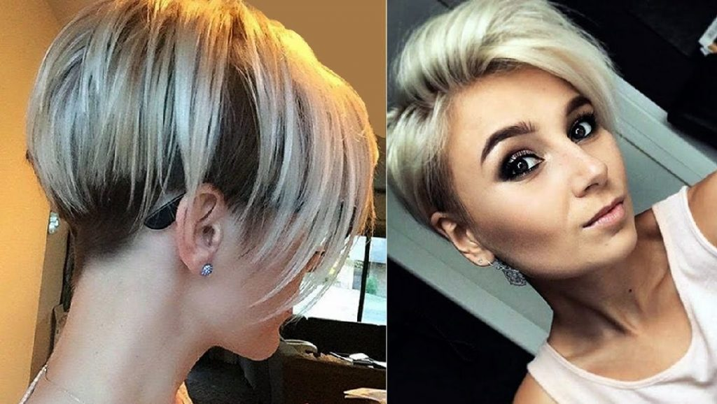 Short hairstyles for formal events